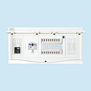 日東工業 電気温水器(エコキュート)+IH用 HCB形ホーム分電盤 入線用端子台付+付属機器取付スペース付(ドア付)リミッタスペースなし 露出・半埋込共用型 電気温水器用ブレーカ40A主幹3P60A 分岐22+2HCB3E6-222TL4NB