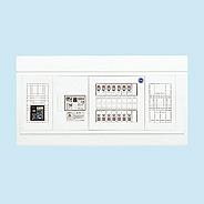日東工業 電気温水器(エコキュート)+IH用 HPB形ホーム分電盤 入線用端子台付+付属機器取付スペース付(ドアなし)リミッタスペースなし 露出・半埋込共用型 電気温水器用ブレーカ40A主幹3P60A 分岐10+2HPB3E6-102TL4NB