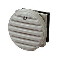 日東工業 プラボックス 高性能タイプPL形プラボックス・オプション換気扇付丸形防水ルーバーWLP-10K-2