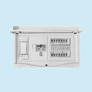日東工業 エコキュート(電気温水器)+IH用 HCB形ホーム分電盤 二次側分岐タイプ(ドア付)リミッタスペース付 露出・半埋込共用型 エコキュート用ブレーカ30A主幹3P60A 分岐18+2HCB13E6-182E2B