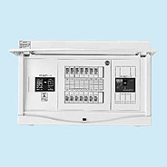 日東工業 エコキュート(電気温水器)+IH+太陽光発電用 HCB形ホーム分電盤 二次側分岐タイプ(ドア付)リミッタスペースなし 露出・半埋込共用型主幹3P50A 分岐10+2HCB3E5-102SEB