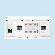 日東工業 エコキュート(電気温水器)+IH+太陽光発電用 HCB形ホーム分電盤 入線用端子台付(ドア付)リミッタスペースなし 露出・半埋込共用型 電気温水器用ブレーカ容量40A主幹3P60A 分岐14+2HCB3E6-142STL4B