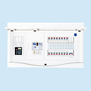 日東工業 エコキュート(電気温水器)+IH+太陽光発電用 HCB形ホーム分電盤 入線用端子台付(ドア付)リミッタスペースなし 露出・半埋込共用型 エコキュート用ブレーカ容量20A主幹3P75A 分岐40+2HCB3E7-402STLR2B