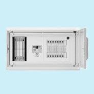 日東工業 HMB形ホーム分電盤 基本タイプ(ドア付・スチール製キャビネット)リミッタスペース付 露出・埋込共用型主幹3P40A 分岐4+4HMB13E4-44B
