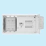 日東工業 HMB形テナント用ホーム分電盤 WHMスペース付 単相2線式(ドア付・スチール製キャビネット)リミッタスペースなし 露出・埋込共用型主幹3P30A(30AF) 分岐6+0HMB3WE-60A