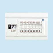 日東工業 エコキュート(電気温水器)+IH用 HPB形ホーム分電盤 一次送りタイプ(ドアなし)リミッタスペースなし 露出・半埋込共用型 電気温水器用ブレーカ40A主幹3P40A 分岐10+2HPB3E4-102TB4B