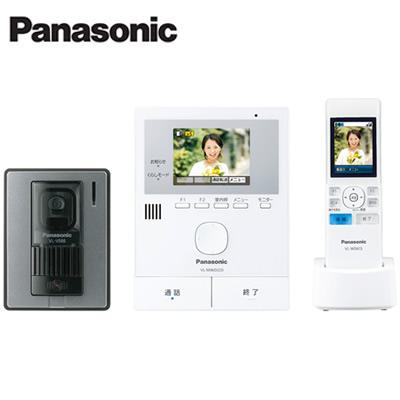 パナソニック Panasonic シンプルな家じゅうどこでもドアホンワイヤレスモニター付テレビドアホン1-2タイプ 基本システムセットVL-SWD220K