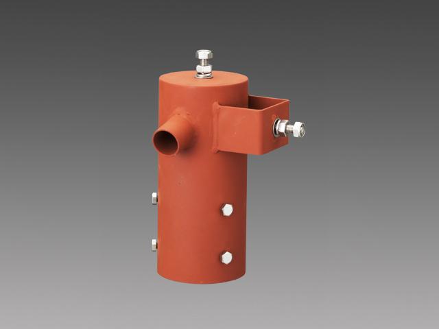 三菱電機 施設照明部材小形投光器オプション上取付/横取付用ポールヘッド(1灯用)EL-XAJ001