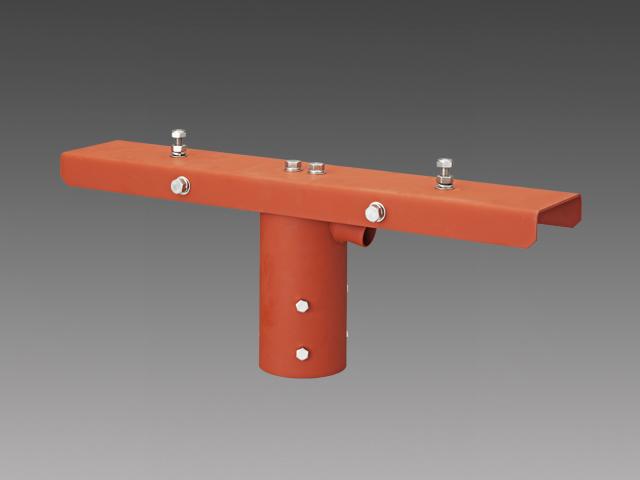 三菱電機 施設照明部材小形投光器オプション上取付用ポールヘッド(2灯用)EL-XAJ002