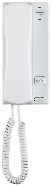 アイホン ビジネス向けインターホンIPネットワーク対応インターホン IXシステム受話器付端末 白色IX-RS-W