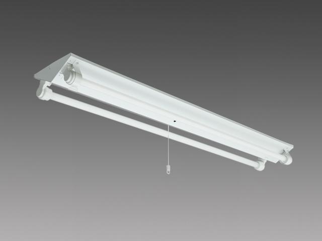 三菱電機 施設照明LED非常用照明器具 電池内蔵 直管LEDランプ搭載形Lファインecoシリーズ 防雨・防湿形器具30分間定格形 逆富士タイプ 2灯用 天井直付専用防水ケース入り 昼白色EL-LW-VH4102A/3 AHN