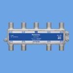 WCS5398分配器 UHF(地デジ)、BS、110度CS、CATV 4K・8K対応 全端子電流通過形 8分配器パナソニック Panasonic 電設資材 マルチメディア対応配線器具