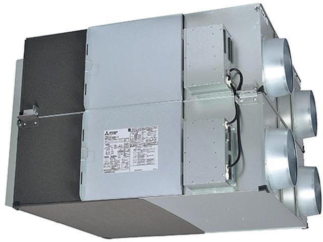 ●三菱電機 業務用ロスナイ天井埋込形 事務所・ホール・テナントビル用単相200V マイコンタイプ(フリープラン対応形)LGH-N200RX3D