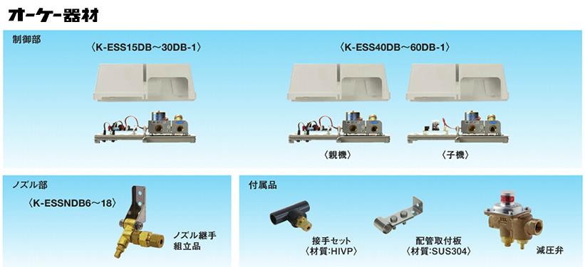 オーケー器材(ダイキン) エアコン部材スカイエネカット 3、4面コイル ビル用マルチ対応タイプ11~15HP用K-ESS15DB-1