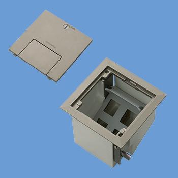 DUM8000MA床用配線器具 住宅用フロアコンスクエア ケーブル工事用[はさみ込み固定仕様]パナソニック Panasonic 電設資材 工事用配線器具