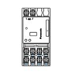 WRT41249[多重伝送]フル2線式リモコン T/U付6Aリレーユニット 片切 4回路用 光アドレス設定式 分電盤用Panasonic 電設資材 リモコン配線器具