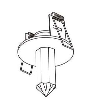 マックスレイ 住宅用照明器具クリスタルライティング Crystal StarLEDDELUXE CRYSTAL 8 1655-94533-38【LED照明】