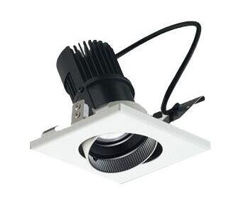 マックスレイ 照明器具基礎照明 CYGNUS SYSTEM DOWNLEDユニバーサルダウンライト 高出力タイプ 広角HID20Wクラス ホワイト(4000Kタイプ) 連続調光60-01552-00-97