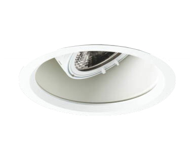 マックスレイ 照明器具基礎照明 GEMINI-M LEDユニバーサルダウンライトφ125 中角 深型 HID35Wクラス電球色(2700K) 連続調光61-20717-00-90