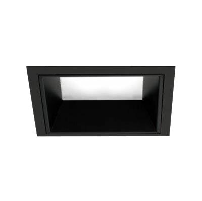 マックスレイ 照明器具基礎照明 INFIT LEDベースダウンライト□125 拡散 HID35Wクラスホワイト(4000Kタイプ) 非調光70-20822-20-97