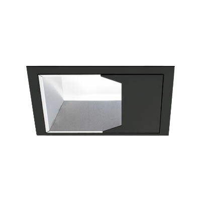 マックスレイ 照明器具基礎照明 INFIT LEDウォールウォッシャーダウンライト□125 広角 HID35Wクラスウォーム(3200Kタイプ) 非調光70-20823-02-92