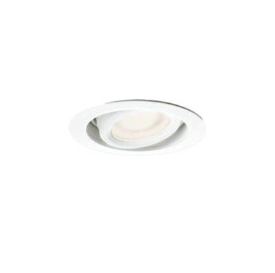 マックスレイ 照明器具基礎照明 LEDミニユニバーサルダウンライト φ75拡散 低出力タイプ JR12V20Wクラス温白色(3500K) 非調光71-20851-00-95