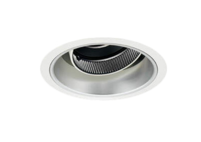 マックスレイ 照明器具基礎照明 CYGNUS φ100 LEDユニバーサルダウンライト低出力タイプ ストレートコーン 狭角JR12V50Wクラス 温白色(3500K) 非調光71-21021-00-95