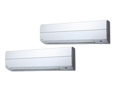 AKSB22437X (8馬力 三相200V ワイヤレス)東芝 業務用エアコン 壁掛形 スーパーパワーエコゴールド 同時ツイン 224形 取付工事費別途