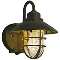 AU38410Lエクステリア LEDポーチ灯人感センサ タイマー付ON-OFFタイプ 非調光 電球色 防雨型 白熱球60W相当コイズミ照明 照明器具 門灯 玄関 屋外用照明