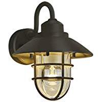 AU38413Lエクステリア LEDポーチ灯非調光 電球色 防雨型 白熱球60W相当コイズミ照明 照明器具 門灯 玄関 屋外用照明