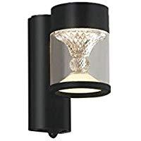 AU45495Lエクステリア LED一体型 ポーチ灯 TWIN LOOKSシリーズ人感センサー付マルチタイプ 非調光 電球色 防雨型 白熱球60W相当コイズミ照明 照明器具 門灯 玄関用 ガーデンライト 屋外用照明