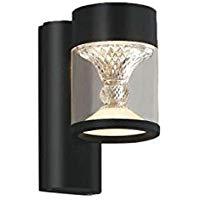 AU45497Lエクステリア LED一体型 ポーチ灯 TWIN LOOKSシリーズ調光可 電球色 防雨型 白熱球60W相当コイズミ照明 照明器具 門灯 玄関用 ガーデンライト 屋外用照明