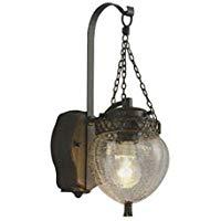 AU47344Lエクステリア LEDポーチ灯人感センサ タイマー付ON-OFFタイプ 非調光 電球色 防雨型 白熱球40W相当コイズミ照明 照明器具 玄関 チェン吊り風 屋外用照明
