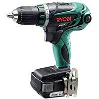 リョービ RYOBI 電動工具 POWER TOOLS 穴あけ・締付充電式ドライバドリル 14.4V トルク34N・m ドリルモードLi-ion電池1500mAh 2個付BDM-1410