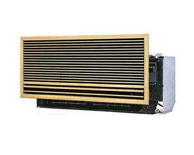 ダイキン ハウジングエアコン壁埋込形 ワイドセレクトマルチ用室内機C28NMWV(おもに10畳用)前面グリル・据付枠とセット※室内機のみ