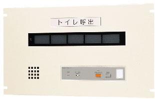 アイホン ビジネス向けインターホントイレ呼出表示装置 EIA規格ラック組込型 5窓用表示器CBN-5E