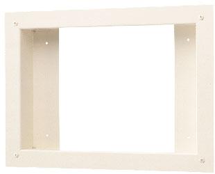アイホン ビジネス向けインターホントイレ呼出表示装置 1~5窓用壁埋込用取付枠CBN-FW5