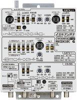 DXアンテナ 共同受信用CATVブースター MDUCS/BS-IF・770MHz帯双方向2K・4K・8K対応 35dB形 高シールドCW35MS