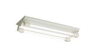 DOL-4373WW軒下用直管LEDベースライト LED交換可能逆富士型 初期照度補正型 防雨形昼白色 非調光 FL20W×2灯相当大光電機 照明器具 エントランス 共用廊下用 天井照明