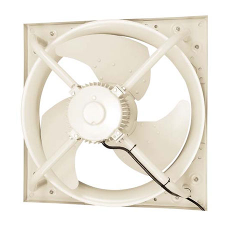 ●三菱電機 産業用有圧換気扇低騒音形 3相200-220V工場・作業場・倉庫用【排気・給気変更可能】EJ-95GTB3