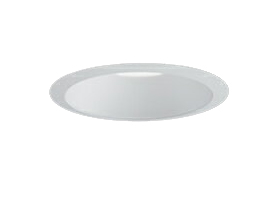 三菱電機 施設照明LEDベースダウンライト MCシリーズ クラス15096° φ100 反射板枠(白色コーン 遮光15°)白色 一般タイプ 連続調光 FHT32形相当EL-D00/1(151WM) AHZ