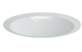 三菱電機 施設照明LEDベースダウンライト MCシリーズ クラス15099° φ150 反射板枠(白色コーン 遮光15°)温白色 一般タイプ 連続調光 FHT32形相当EL-D04/3(151WWM) AHZ