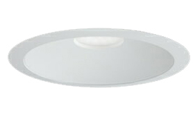 三菱電機 施設照明LEDベースダウンライト MCシリーズ クラス25099° φ150 反射板枠(白色コーン 遮光15°)昼白色 一般タイプ 固定出力 水銀ランプ100形相当EL-D04/3(251NM) AHN