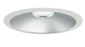 三菱電機 施設照明LEDベースダウンライト MCシリーズ クラス25097° φ150 反射板枠(銀色コーン 遮光15°)白色 一般タイプ 固定出力 水銀ランプ100形相当EL-D05/3(251WM) AHN