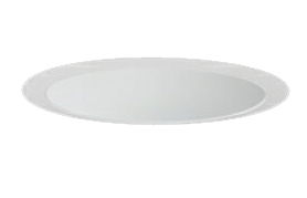 三菱電機 施設照明LEDベースダウンライト MCシリーズ クラス15085° φ125 反射板枠(深枠タイプ 白色コーン 遮光30°)昼白色 一般タイプ 固定出力 FHT32形相当EL-D06/2(151NM) AHN