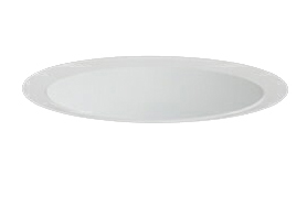 三菱電機 施設照明LEDベースダウンライト MCシリーズ クラス20085° φ125 反射板枠(深枠タイプ 白色コーン 遮光30°)電球色 一般タイプ 連続調光 FHT42形相当EL-D06/2(201LM) AHZ