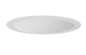 三菱電機 施設照明LEDベースダウンライト MCシリーズ クラス25085° φ125 反射板枠(深枠タイプ 白色コーン 遮光30°)電球色 一般タイプ 固定出力 水銀ランプ100形相当EL-D06/2(251LM) AHN