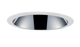 三菱電機 施設照明LEDベースダウンライト MCシリーズ クラス20058° φ125 反射板枠(深枠タイプ 鏡面コーン 遮光30°)昼白色 一般タイプ 固定出力 FHT42形相当EL-D07/2(201NM) AHN