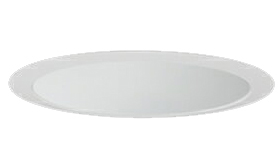 三菱電機 施設照明LEDベースダウンライト MCシリーズ クラス15089° φ150 反射板枠(深枠タイプ 白色コーン 遮光30°)電球色 一般タイプ 固定出力 FHT32形相当EL-D08/3(15127M) AHN