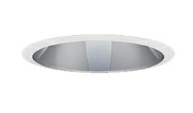 三菱電機 施設照明LEDベースダウンライト MCシリーズ クラス25037° φ125 反射板枠(グレアソフト 銀色コーン 遮光45°)白色 一般タイプ 連続調光 水銀ランプ100形相当EL-D10/2(251WM) AHZ